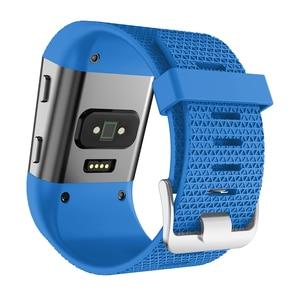 Image 4 - Умные аксессуары для Fitbit, сменный спортивный силиконовый браслет, ремешок для наручных часов Fitbit