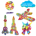 Juguetes de bloques de construcción ladrillos 3d diseñador magnética bloques de construcción magnética diy juguete ladrillos ladrillos niños juguetes educativos de aprendizaje