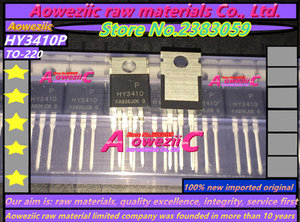 Image 2 - Aoweziic 100% Новый оригинальный импортный HY3410 HY3410P TO 220 MOS FET 100V 140A