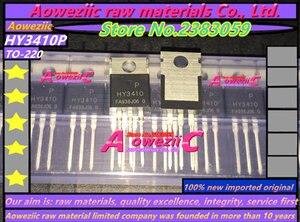 Image 2 - Aoweziic 100% mới ban đầu nhập khẩu HY3410 HY3410P TO 220 MOS FET 100 v 140A