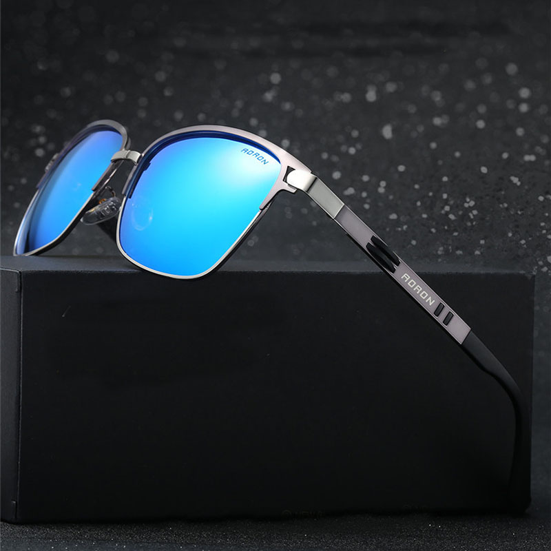 Steampunk Goggles Men Carter Sunglasses Polarized Lunette Square Male Sun Glasses Luxury Brand Shades Driver Eyeglasses oculos