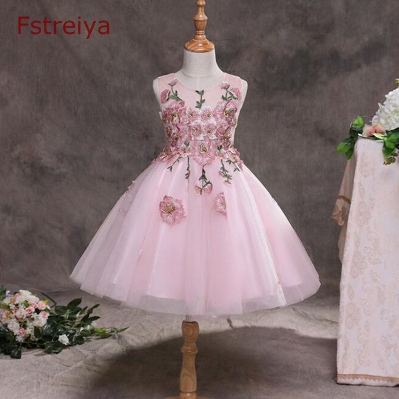 Baby Girls dress Floral flower girls sequins party princess dress kids frozen elsa dresses summer girl clothes princess dresses jilly 2018 summer kids baby girls clothes flower girl dresses for girls party kids clothing tutu princess dress 3 12y