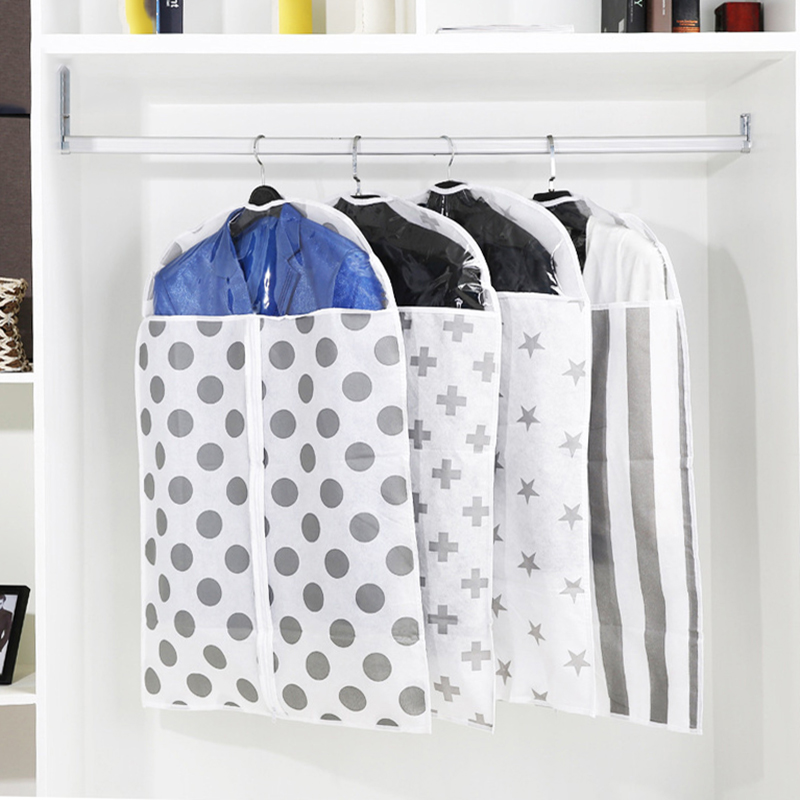 New Clothes Dustproof Bag Dress Suit Garment Hanging Storage Protector Wardrobe