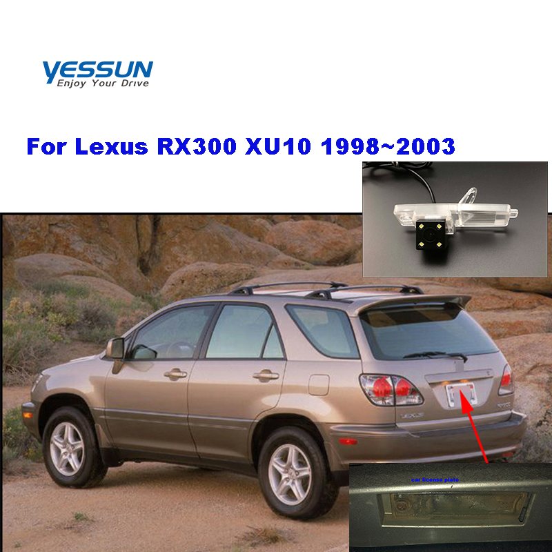 Yessun License plate camera For <font><b>Lexus</b></font> <font><b>RX300</b></font> XU10 <font><b>1998</b></font>~<font><b>2003</b></font> Car Rear View camera Parking For <font><b>rx300</b></font> lexsus image
