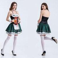 Ladies OKTOBERFEST BEER GIRL German Fancy Dress Costume