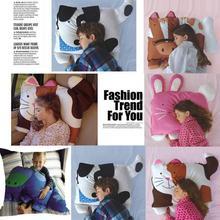 40*40 см Детские наволочки с животными детская наволочка для мальчиков и девочек милый чехол для подушки с принтом для домашний декор для детей 2O1225