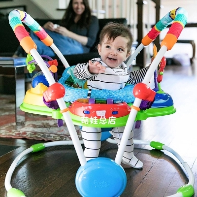 Rainforest Jumperoo Learning Walker Musical Baby Bouncer