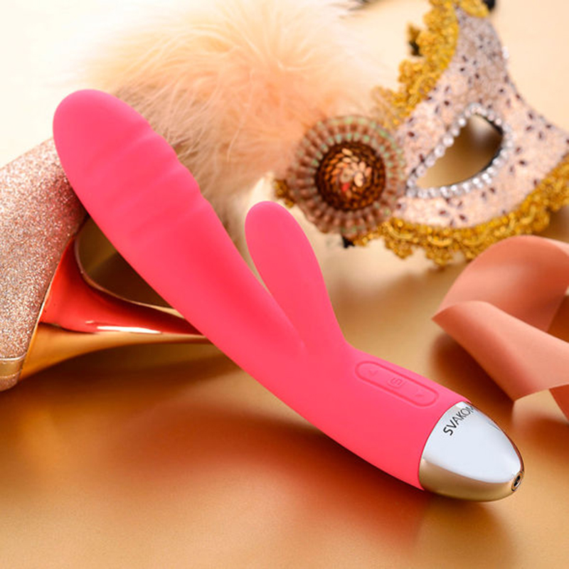 Female Sex Machine Soft Rabbit Vibrator Waterproof G-spot Clitoris Stimulator Sex Massager for Woman Sex Toys G spot Erotic Toys