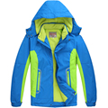 Crianças Outerwear casaco desportivo crianças roupas dupla plataforma impermeável à prova de vento quente meninos meninas casacos para 6 - 14 T outono e inverno