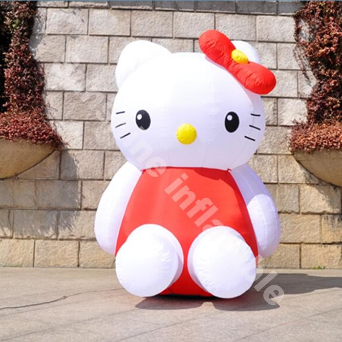 Customize hello kitty inflatable cartoon charactersCustomize hello kitty inflatable cartoon characters