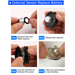 Image 4 - Infitary Good Quality Wirele Truck TPMS With 6 External Sensor Universal Car Tire Pressure Monitoring System Auto Security Alarm