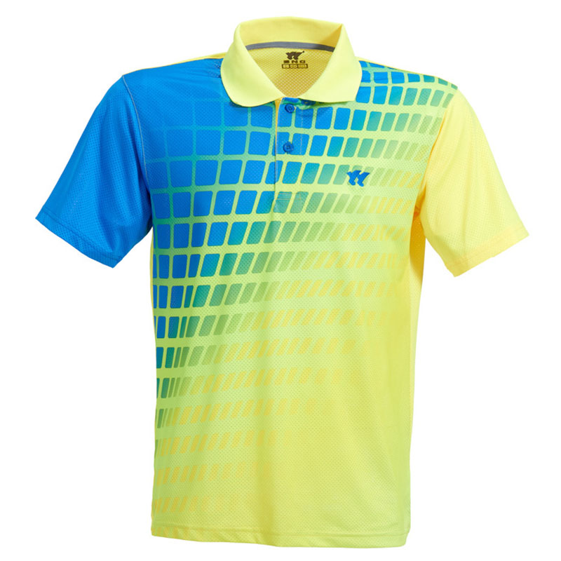 Badminton Shirt Couples Unisex Shirts Table Tennis Jersey Plus Size Breathable Quick Dry Men/Women T-shirt Tennis shirts zumaba(China)