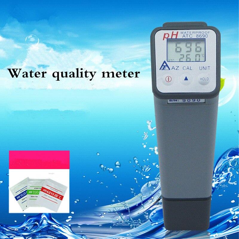 Digital Water PH Meter 0-14 Water Quality Meter PH Tester Detector Monitor Automatic CompensationDigital Water PH Meter 0-14 Water Quality Meter PH Tester Detector Monitor Automatic Compensation