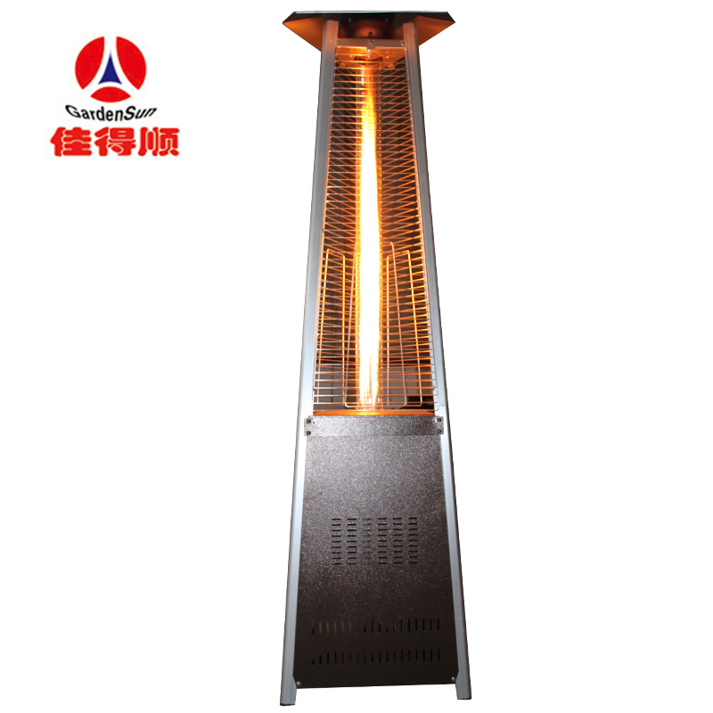 Column Of Flame Gas Heater Outdoor Patio Heaters Liquefied Natural Machine