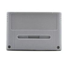 For Nintendo SNES sport card case PAL Japanese/European model grey shell for nintend alternative housing case