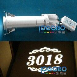 Пользовательские 20 Вт Светодиодные номера отеля дизайн проекционный свет электрические рекламные вывески Gobo проектор оптом и шоппинг
