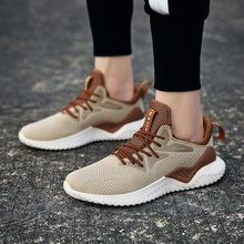 Summer breathable deodorant running shoes mens ultra light shock absorber foam bottom sports trend sneakers