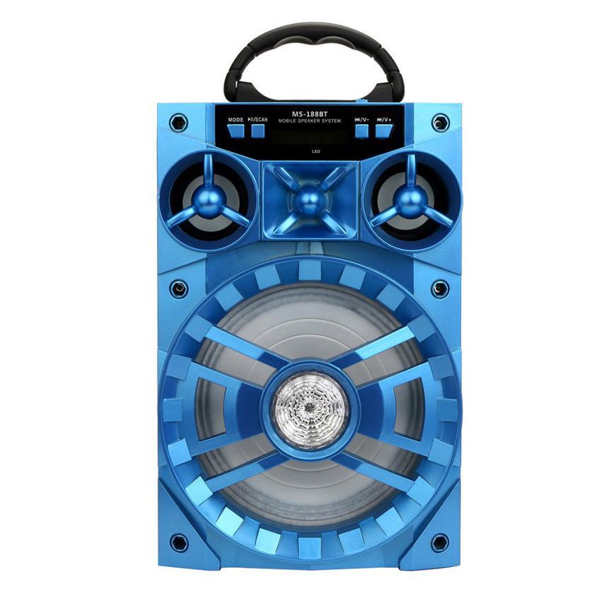 Good Sale Outdoor Bluetooth Wireless Portable Speaker Super Bass with USB/TF/AUX/FM Radio Feb 20