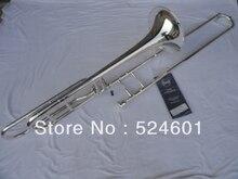 Bach Trombone Tenor 42BO Sandhi Tenor Silver Plated Trombone Music Instruments Professional Accessories