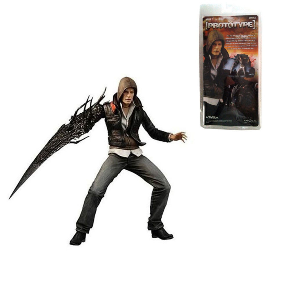 Neca Prototype Alex Mercer 17cm/7 Action Figure in Pack Free Shipping