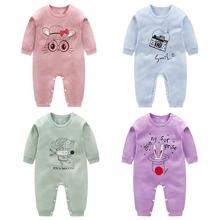 New Born Baby Clothes Kids Long Sleeve Cotton Girl Boy Romper Jumpsuit for Newborns