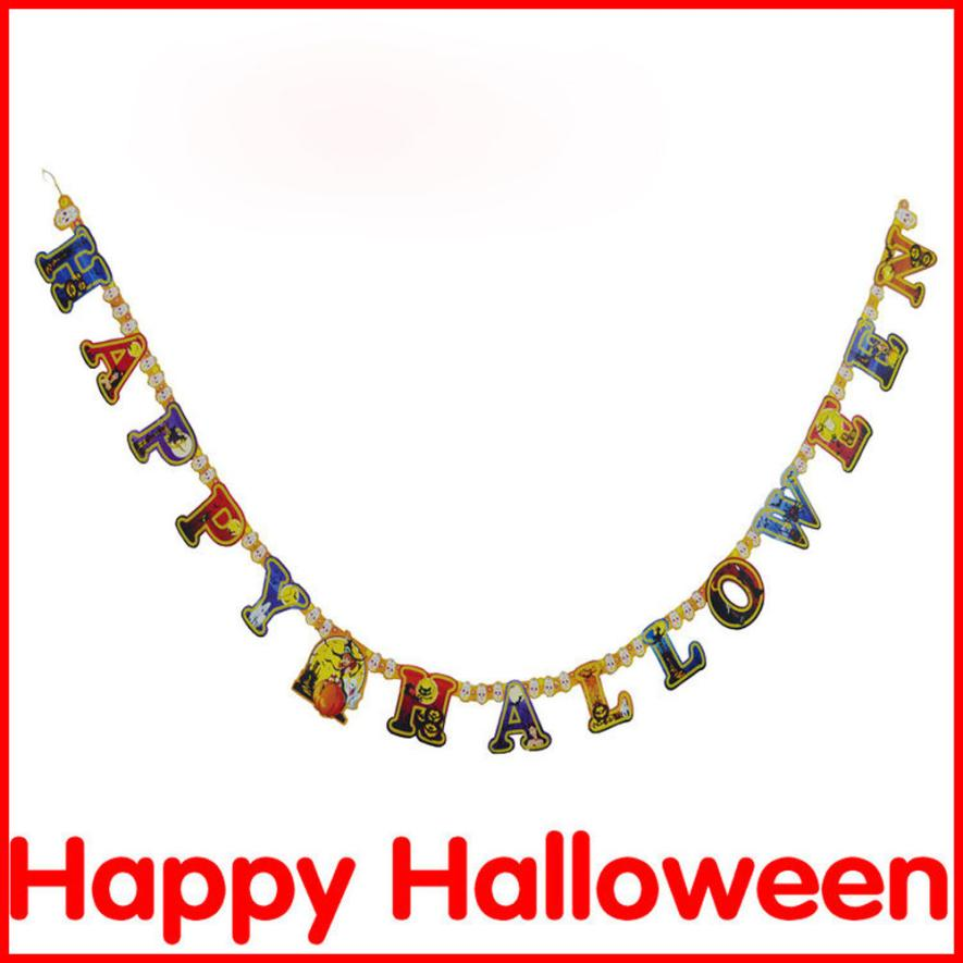 new halloween decoration party paper garland decoration halloween party decoration supplies decorazioni di halloween hot sale - Halloween Decoration Sales