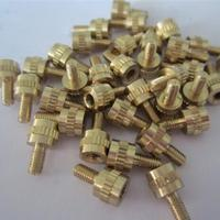 custom service precision stainless screws brass parts CNC machining Small order is welcome