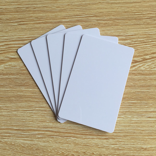 100pcs/lot Universal PVC NTAG213 Blank White RFID NFC Card Compatible with all nfc phone
