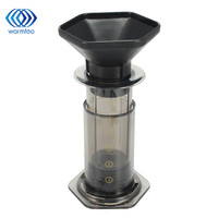 Coffee Maker Portable French Hand Press 350ML Best Espresso Coffee Machine + 350pcs Filter Paper Household Travel