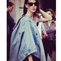 Fashion 2016 Autumn Women's Jeans Loose Vintage Denim Jacket Women Short Jean Jacket jackets for Women Outwear