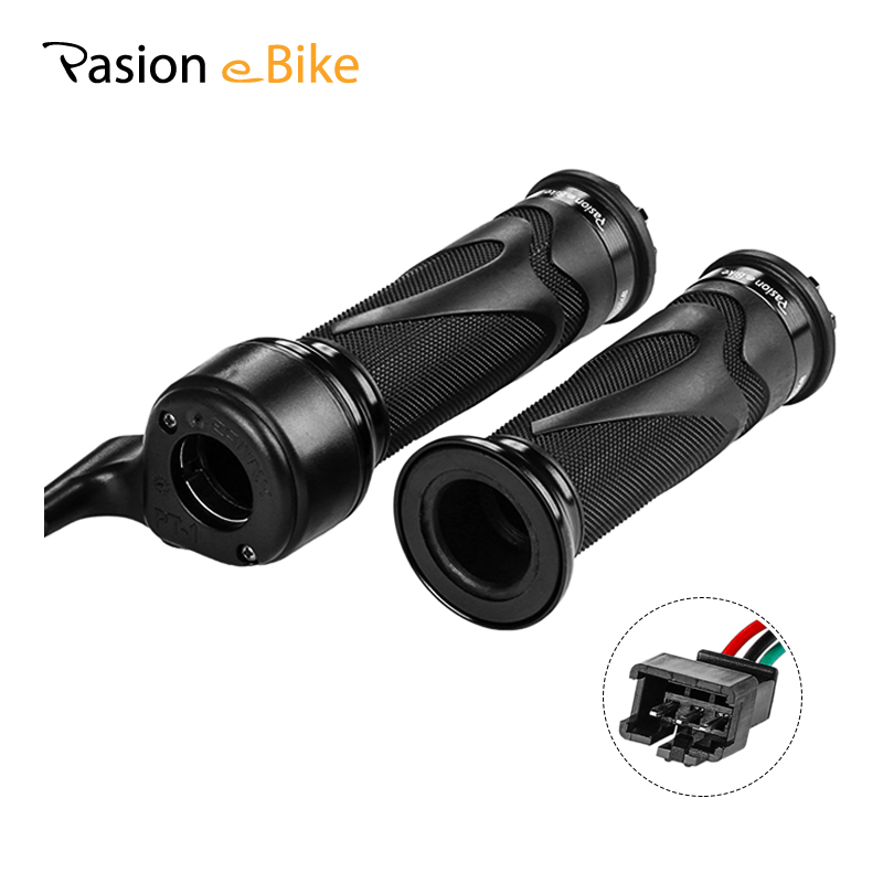 Pasion E Bike Twist Throttle For Electric Bike Throttle 24V-72V E-Bike EBike Throttle Electric Bicycle Parts 140CM