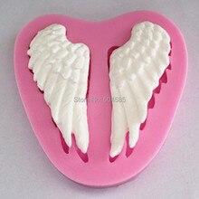 Силиконовые крылья Ангела помадка силиконовые сахарные ремесла формы для пирожных сделай сам украшения