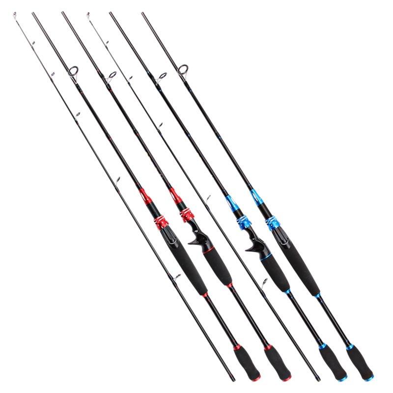 New Carbon Fishing Rod 1.8m 2 Segments M Power Line wt.6-15lb Lure wt.1//8-3//4oz
