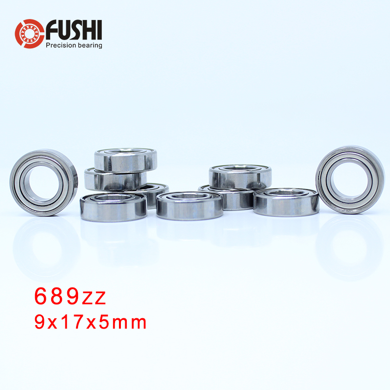 689ZZ Bearing 9*17*5 Mm ( 10 PCS ) ABEC-5 Miniature 689 Z ZZ High Precision 689z Ball Bearings