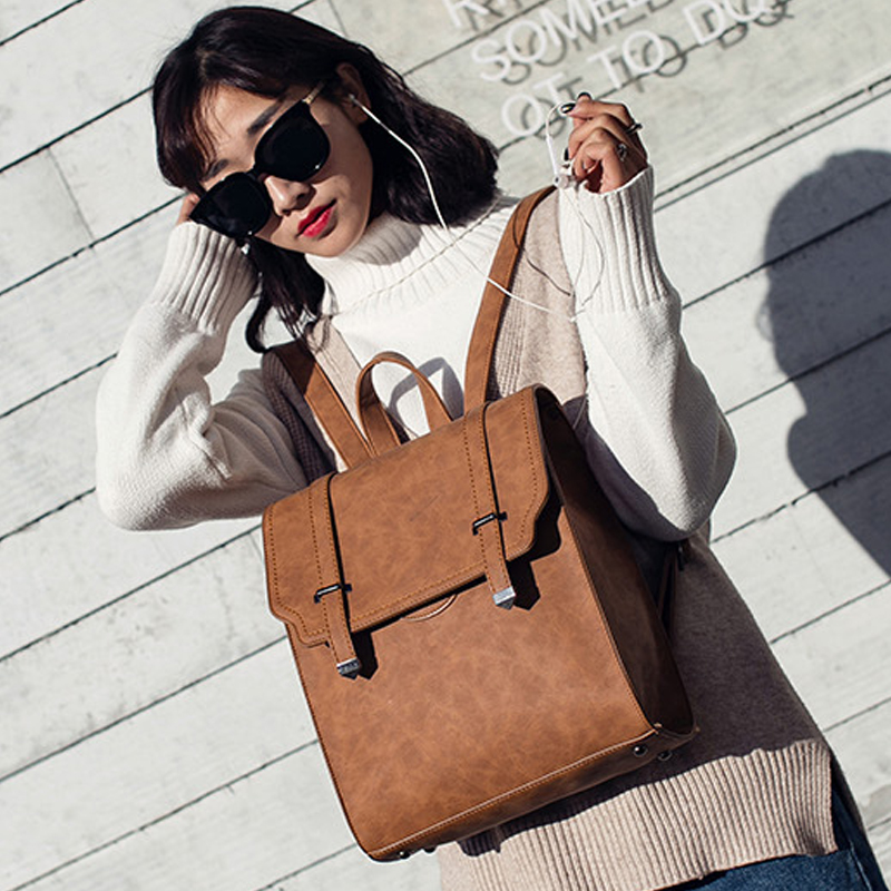 Otherchic Hot New Designer Vintage Backpack Double Arrow Head Women Backpack High Quality Fashion Girls School Bag L 7n07 89 In Backpacks From Luggage