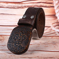 Hongmioo nuevo diseño mens cinturones de lujo superior de la marca cintos de Homens de Grife Alta Gualidade Hombres Cinturón De Cuero Real Oscuro marrón