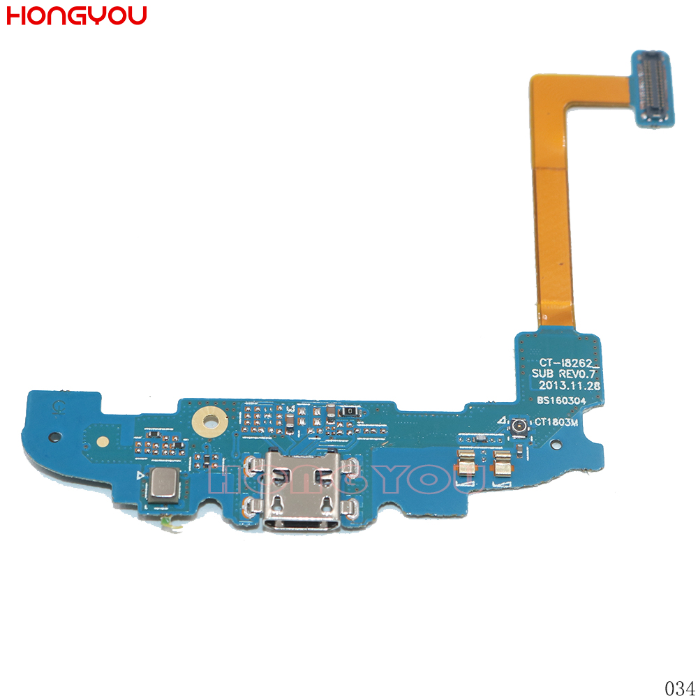 USB Charging Port Connector Charge Dock Socket Jack Plug Flex Cable With Microphone For Samsung Galaxy Core I8262 I8260