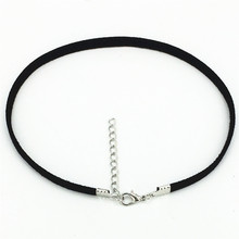 Hot new Bijoux Plain Black Velvet Ribbon Collares Anime Maxi torques Necklace Chokers Necklace jewelry accessories women 2016(China)