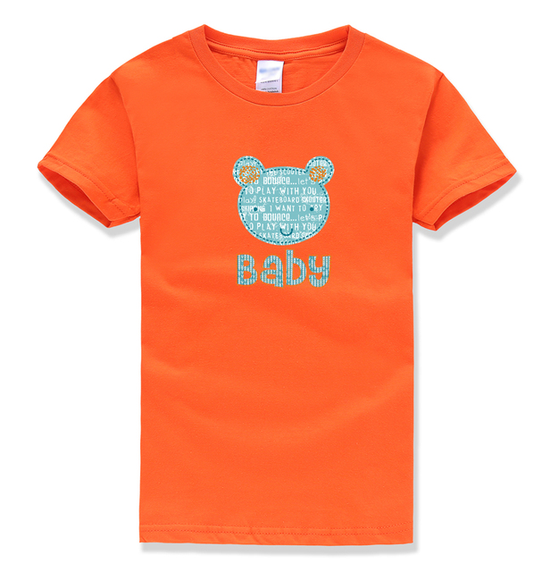 baby letter printing tops tee shirts summer 2018 new fashion baby girl clothes funny kawaii street homme t-shirts kids shirts