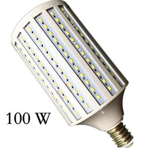 Lampada 40W 50W 60W 80W 100W LED Lamp 5730 2835SMD E27 E40 E26 B22 110V 220V Corn Bulb Pendant Lighting Chandelier Ceiling Light