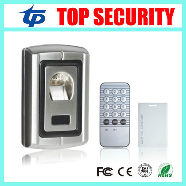 F007 fingerprint and RFID card access controller standalone biometric fingerprint door access control system with card reader biometric standalone access control rfid access control for building management system