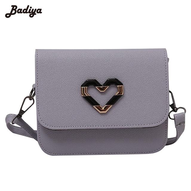 Fashion Women S Handbags Leather Sac Hearts Charms Pattern Purse Phone Bags Las Bolsa Feminina Female