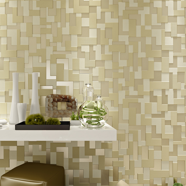 Modern 3D Mural fashion designers Living Room TV background bedroom wall  papers home decor brick mosaicAliexpress com   Buy Modern 3D Mural fashion designers Living Room  . Designer Home Wallpaper. Home Design Ideas