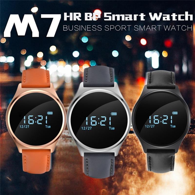 M7 Heart Rate Monitor Bluetooth 4 0 Wristband Fitness Tracker font b Smart b font Watch