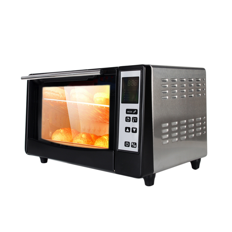 220V Electric Baking Oven 10L Multifunctional Stainless Steel Infrared Oven Making Bread Cake Pizza Oven Baking EU/UK/AU Plug цена и фото