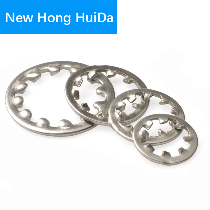 Internal Toothed Gasket Washer M3 M4 M5 M6 M8 M10 M12 M14 M16 M20 M22 M24 M30 Serrated Lock WasherS 304 Stainless Steel free shipping 304 stainless steel square gasket square washer m3 m4 m5 m6 m8 m10 m12 m14 m16 curtain wall with square washer