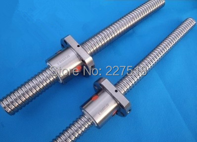 ФОТО 1pc SFU1604 Ball Srew L800mm Ballscrews +1pc 1604 ball nut without end machined