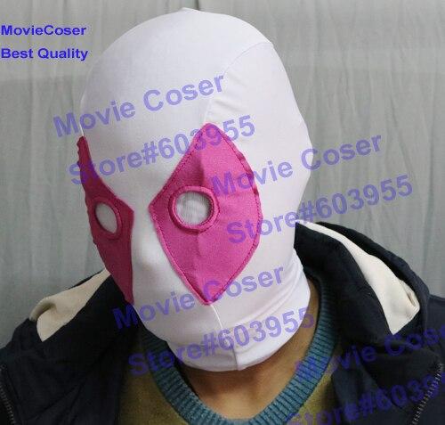 MovieCoser Custom Made GwenPool Costume Comic Lady Deadpool Suit Rosa - Disfraces - foto 6