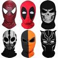 9 Estilo New Crânio Fantasma X-men Deadpool Punisher Exterminador Grim Reaper Balaclava Tático Traje de Halloween Rosto Cheio de Máscaras máscara