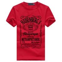 2016 New Summer Fashion Brothers Shirt Men Breaking Bad Walter White Men T Shirt Heisenberg Men